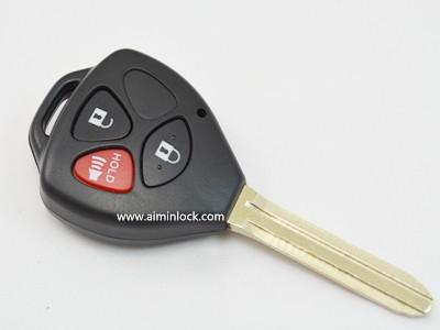 丰田汽车3键遥控器匙壳